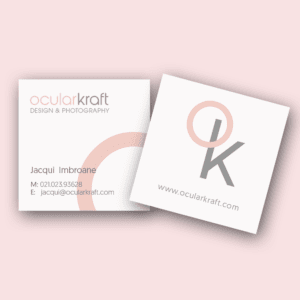 Square Business Cards – Full Colour