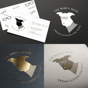 Premade Logo- Warp & Woof Sample