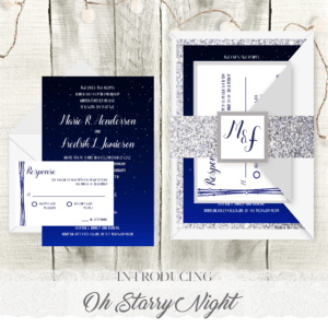 Oh Starry Night – Wedding Invitation Suite