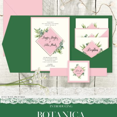 Botanica Wedding Invitation Suite