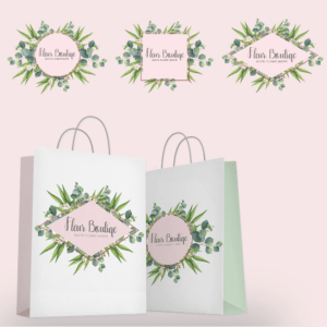 Fleur Boutique Watercolour Logo-