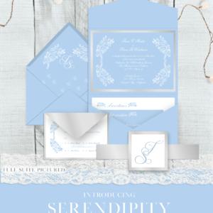 Serendipity Wedding Invitation Suite