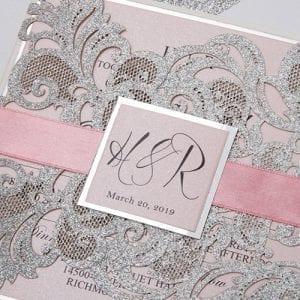 Ribbon & Monogram Tag Belly Band